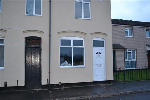 Thumbnail End terrace house to rent in Cook Street, Darlaston, Wednesbury