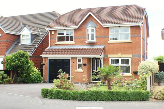 Thumbnail Detached house for sale in Windflower Drive, Leyland