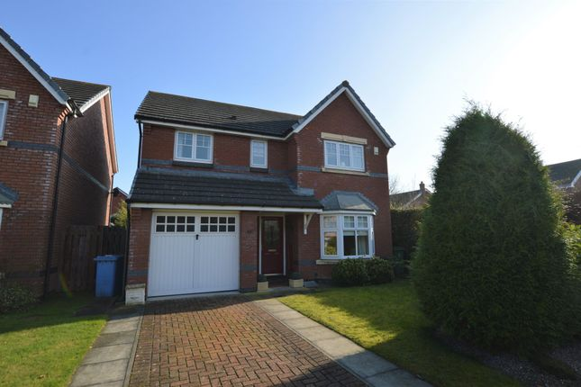 Thumbnail Detached house to rent in Cherry Orchard, Holt, Wrexham