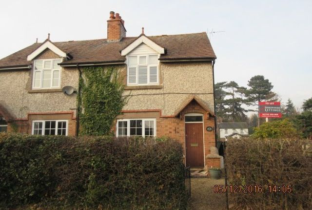 3 bed semi-detached house to rent in Hill View, Dorrington, Shrewsbury