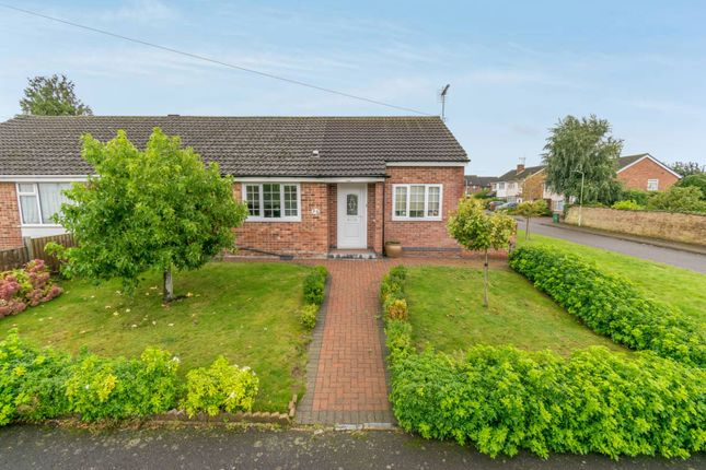 Thumbnail Semi-detached bungalow for sale in Dove Rise, Leicester