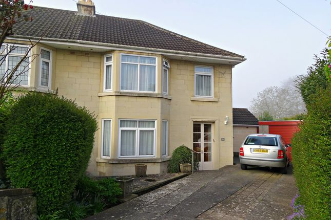 Thumbnail Semi-detached house for sale in Elm Grove, Lower Swainswick, Bath