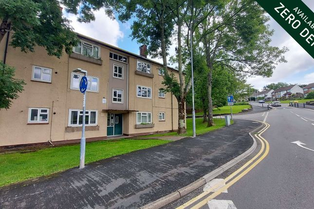 Thumbnail Flat to rent in Monnow Way, Bettws, Newport