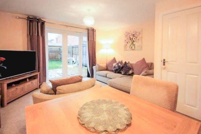 Thumbnail End terrace house for sale in Fossview Close, Strensall, York