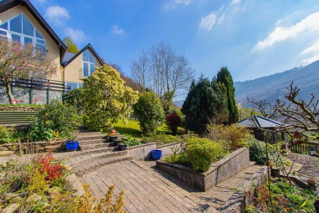 Thumbnail Detached house for sale in The Graig, Cwmcarn, Newport