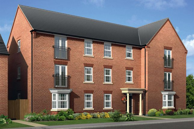 "Thumbnail Flat for sale in ""Chichester"" at Mount Street, Barrowby Road, Grantham"