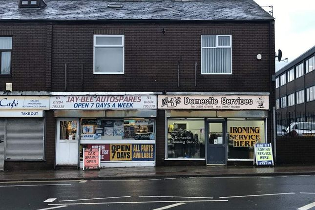 Thumbnail Retail premises for sale in Market Street, Farnworth, Bolton