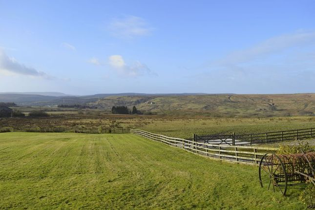 Thumbnail Farmhouse for sale in Top O Th Lane, Broadhead Road BL7. 2 Exclusive Homes, Private Land, Stables And Stunning Views