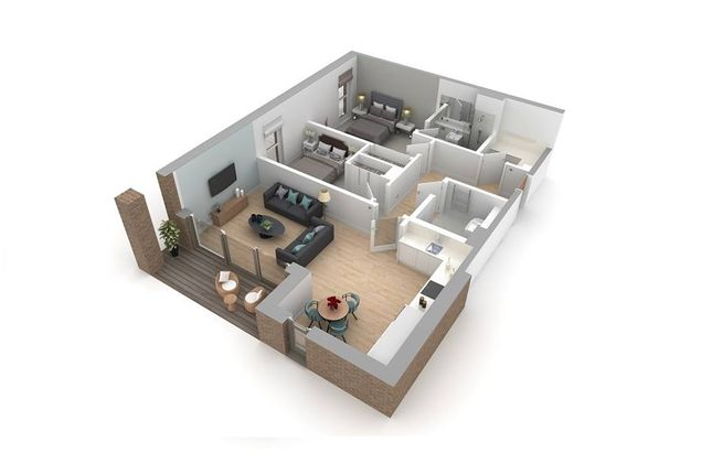 """2 bedroom flat for sale in """"Type F"""" at Jordanhill, Glasgow"""