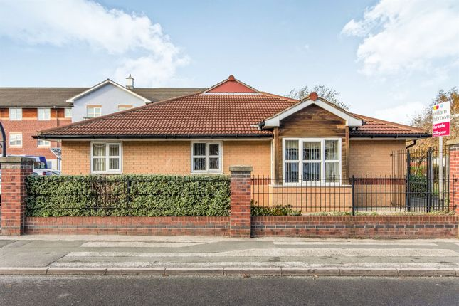 Thumbnail Semi-detached bungalow for sale in Queen Street, Swinton, Mexborough
