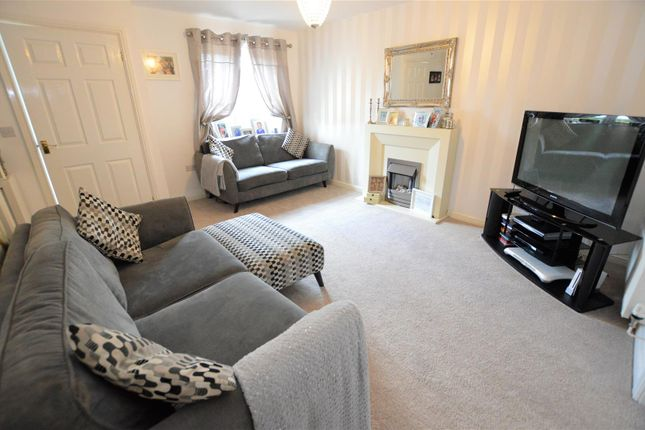 Thumbnail Semi-detached house for sale in Heritage Way, Llanharan, Pontyclun