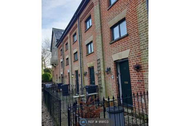 Thumbnail Terraced house to rent in Percival Court, Bishop's Stortford