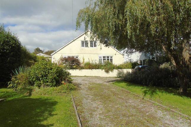 Thumbnail Detached house for sale in Rock House Bungalow, 81A Gwscwm Road, Llanelli