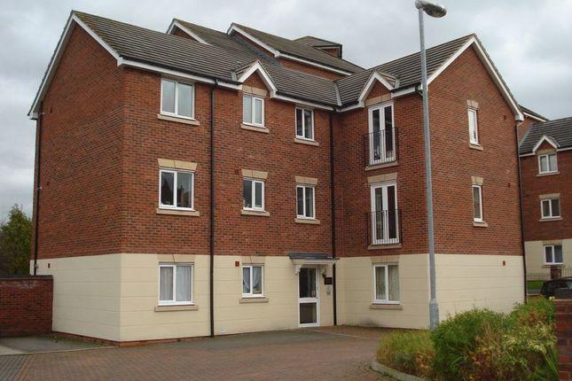 Thumbnail Flat to rent in Pooler Close, Wellington, Telford