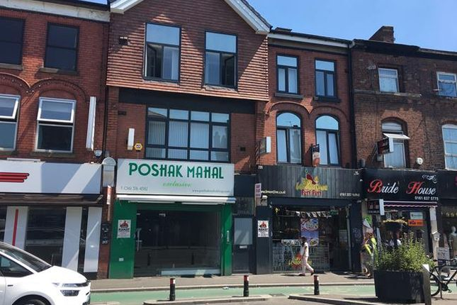 Thumbnail Retail premises for sale in 203 Wilmslow Road, Rusholme, Manchester