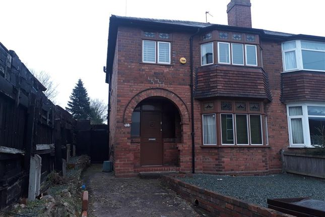 Semi-detached house in  Leswell Lane  Kidderminster D Birmingham