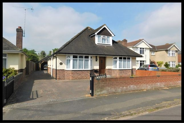 Thumbnail Detached bungalow for sale in Bartram Road, Southampton