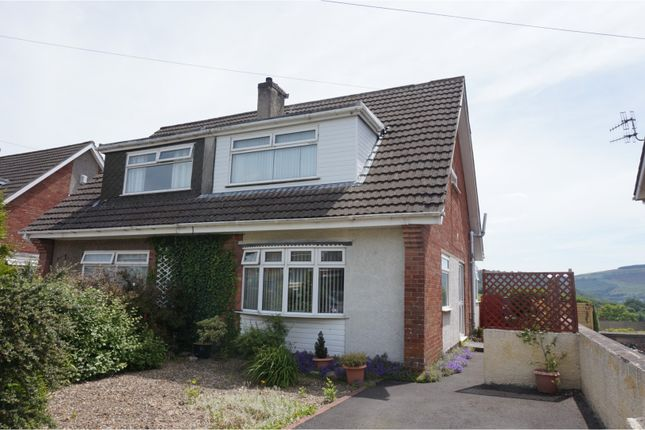 Thumbnail Semi-detached house for sale in Derwent Drive, Aberdare