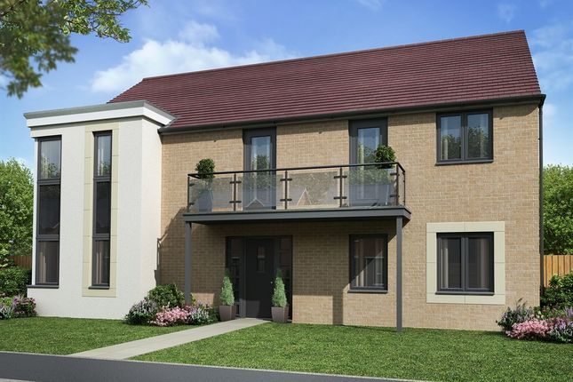 """Thumbnail Detached house for sale in """"The Raeburn"""" at Sir Bobby Robson Way, Newcastle Upon Tyne"""