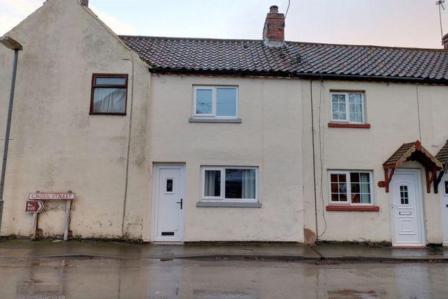 Thumbnail Terraced house for sale in Cross Street, Garthorpe, Scunthorpe