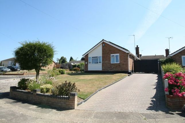 Thumbnail Detached bungalow for sale in St Dominic Road, St Johns, Colchester