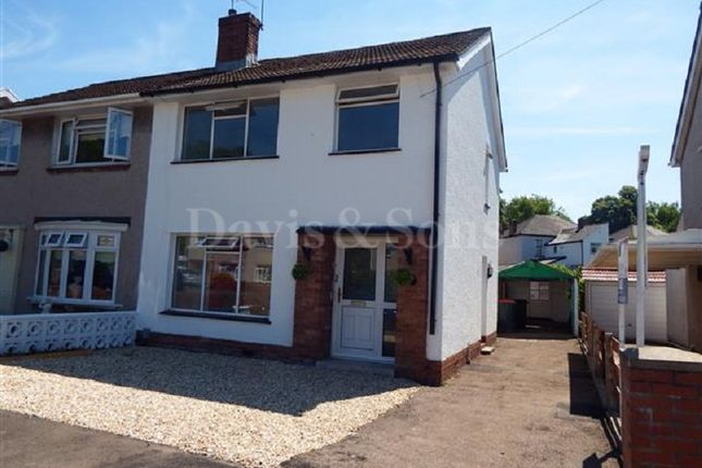 Thumbnail Semi-detached house for sale in Pant Road, Newport, Gwent.