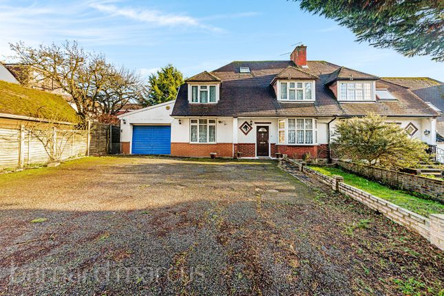 Thumbnail Semi-detached house for sale in Dell Road, Stoneleigh, Epsom