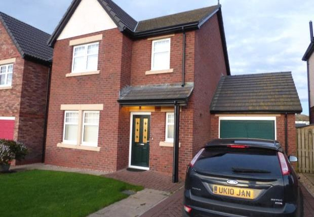 Thumbnail Detached house to rent in Woodville Way, Whitehaven, Cumbria