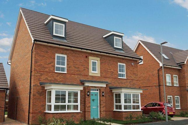 """Thumbnail Detached house for sale in """"Warwick"""" at Carters Lane, Kiln Farm, Milton Keynes"""