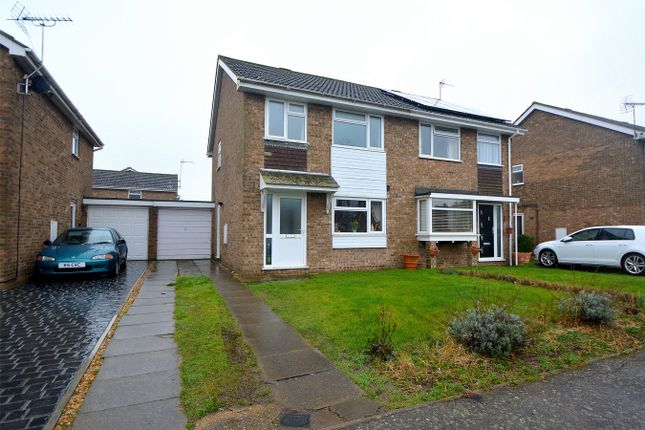 Thumbnail Semi-detached house for sale in The Trundle, Somersham, Huntingdon, Cambridgeshire