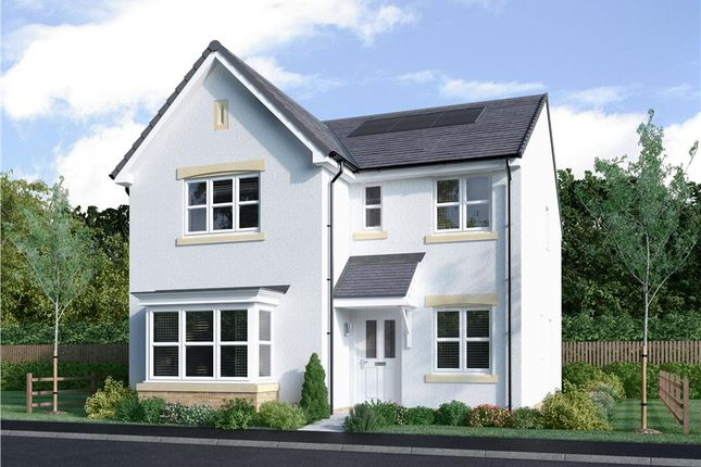 "Thumbnail Detached house for sale in ""Strachan"" at Blantyre Mill Road, Bothwell, Glasgow"