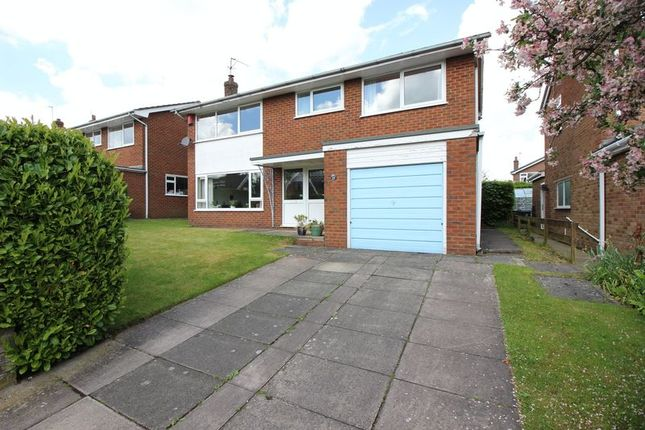 Thumbnail Detached house for sale in Adams Grove, Leek, Staffordshire