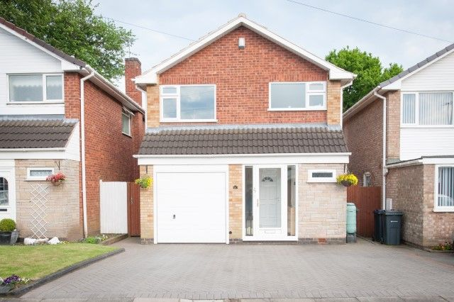 Thumbnail Detached house for sale in Woodway, Erdington, Birmingham