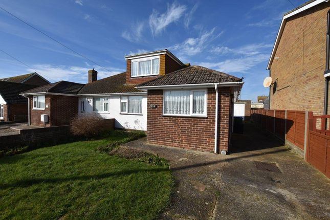 Thumbnail Semi-detached bungalow to rent in Peacehaven, East Sussex