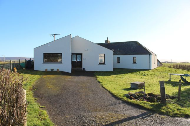 Thumbnail Detached bungalow for sale in Russland Road, Harray, Orkney
