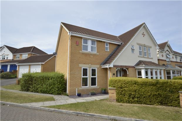 Thumbnail Detached house for sale in Blackberry Drive, Frampton Cotterell, Bristol