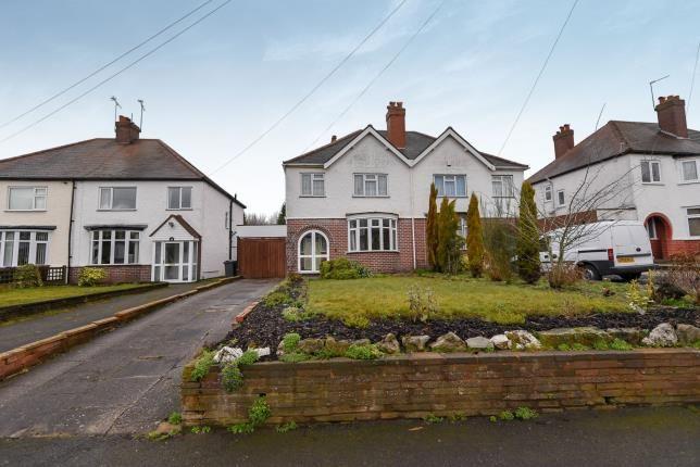 Thumbnail Semi-detached house for sale in Cartbridge Lane, Walsall, West Midlands, .
