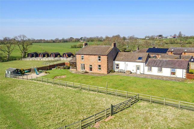 Thumbnail Detached house for sale in Farmhouse, Cottage & 5 Luxury Pods, Hadrians Wall, Cumbria
