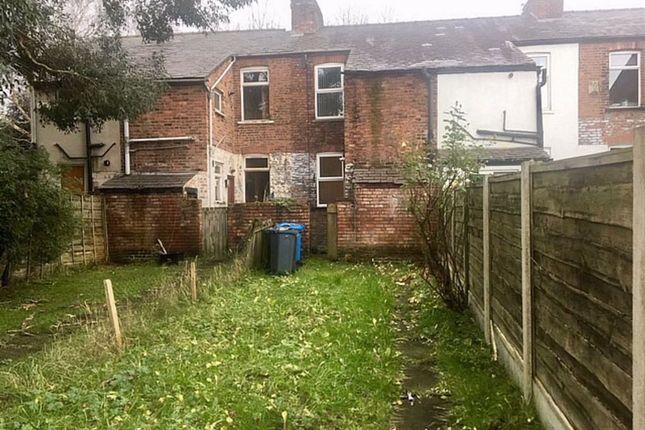 Outside of Egerton Terrace, Fallowfield, Manchester M14
