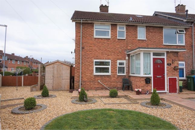 Thumbnail Maisonette for sale in Cherry Tree Lane, Bilbrook, Wolverhampton