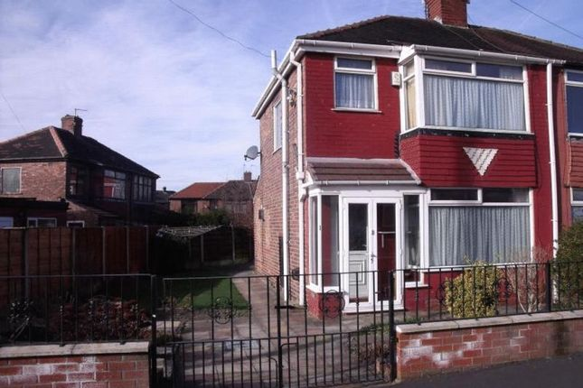 Thumbnail Semi-detached house to rent in Gibson Avenue, Abbey Hey, Manchester