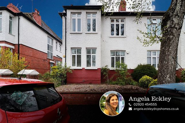 Thumbnail Flat for sale in Winchester Avenue, Penylan, Cardiff