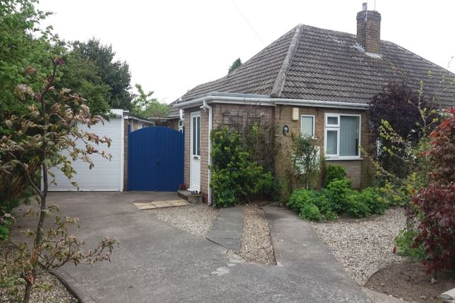 Thumbnail Bungalow for sale in Linley Avenue, Haxby, York