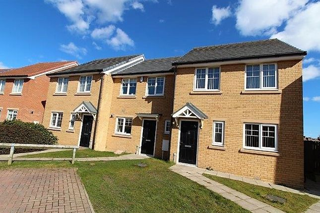 Thumbnail End terrace house to rent in Crofthead Close, Blyth