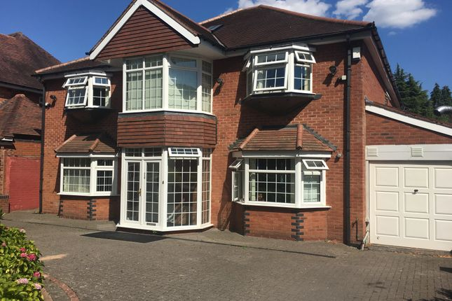 Thumbnail Detached house to rent in Greenland Road, Selly Park, Birmingham