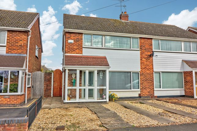 Thumbnail Semi-detached house for sale in Foxton Road, Binley, Coventry
