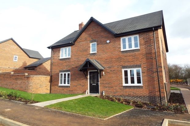 Thumbnail Detached house to rent in Geoff Morrison Way, Uttoxeter
