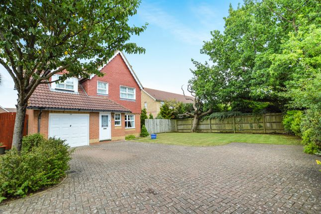 Thumbnail Detached house for sale in Dove Close, Kingsnorth, Ashford