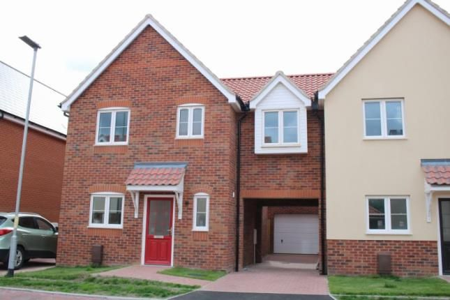 Thumbnail Link-detached house for sale in West Row, Bury St. Edmunds, Suffolk