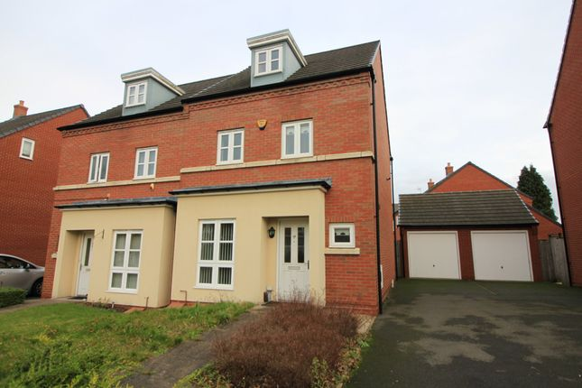 Thumbnail Semi-detached house for sale in Charlotte Road, Edgbaston, Birmingham